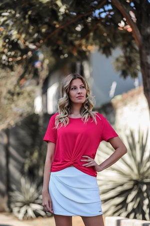 Shorts Saia Babados