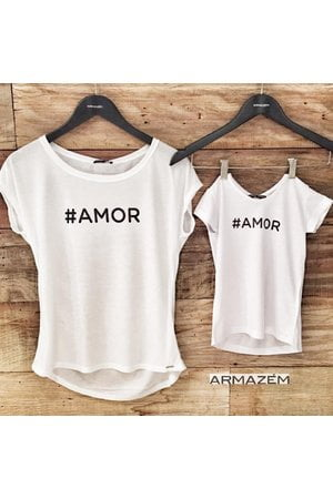 T-shirt #AMOR