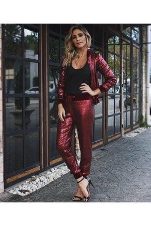 Calça Pijama Paete