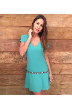 Vestido Pedraria