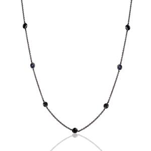 Colar Tiffany 80cm Negro