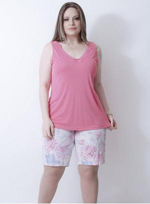 Pijama em Poliamida Lov.u