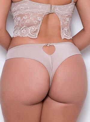 Calcinha em Poliamida Fio Renda Nude