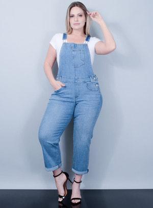 Jardineira Levi's Jeans Feminino