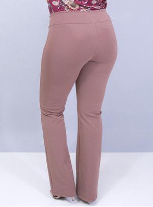 Calça Bailarina Plus Size em Elanca