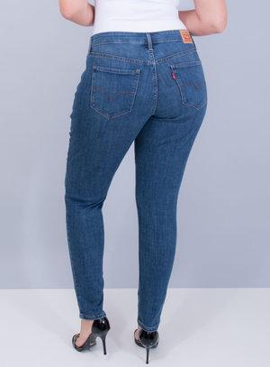 Calça Levi's Jeans Feminina 711 Skinny Estonada