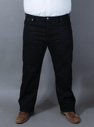 Calça Levi's Jeans Masculina 501 Original Fit Preta