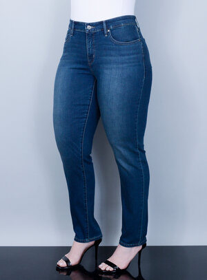 Calça Levi's Jeans Feminina 311 Skinny Azul