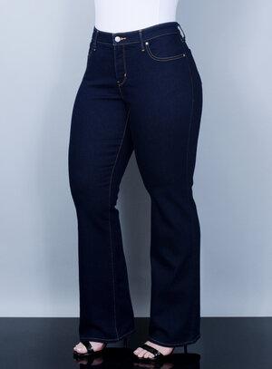 Calça Levi's Jeans Feminina 315 Bootcut Pespontada