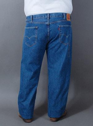Calça Levi's Jeans Masculina 505 Regular Fit Lavagem Média