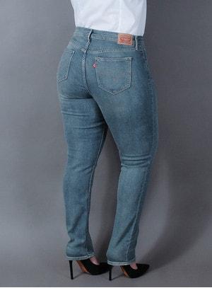 Calça Levi's Jeans Feminina 311 Skinny Estonada