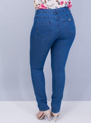 Calça em Jeans com Elastano Skinny