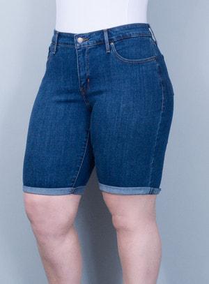 Bermuda Levi's Jeans Feminina