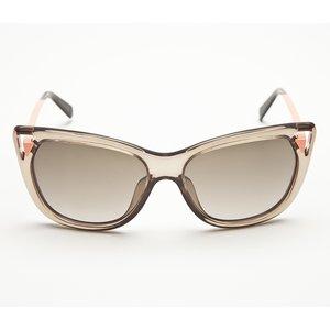 óculos Dior em marrom e coral