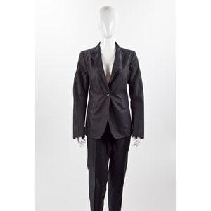 Blazer Calvin Klein em gabardini preto