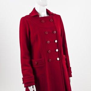 Casaco Marc Jacobs em cashmere vermelho