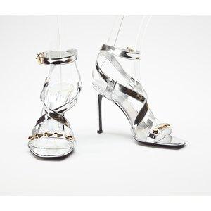 Sandalia Louis Vuitton prateada