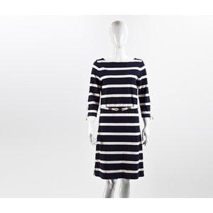 Vestido Ralph Lauren em azul marinho e branco