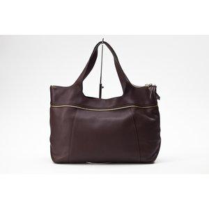 Bolsa Longchamp couro marrom