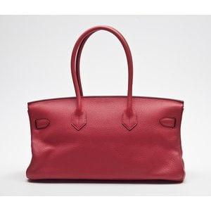 Bolsa Hermes Shouder Birkin clemence rouge garance
