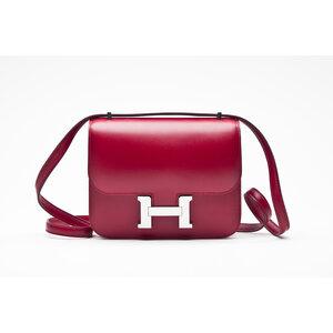 Bolsa Hermes Constance 18 Rouge em Veau