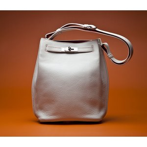 Bolsa Hermes So Kelly togo branca