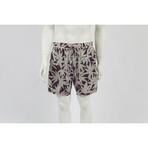 Short Dolce & Gabbana em nylon cinza e bordô