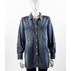 Camisa Gina Tricot em jeans
