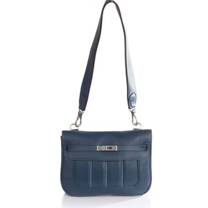 Bolsa Hermes Berline 28 Azul