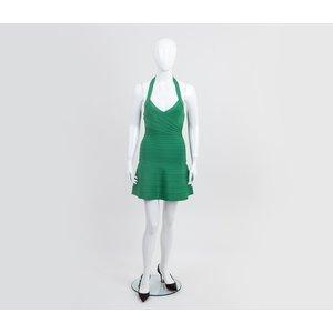 Vestido Herve Lèger verde