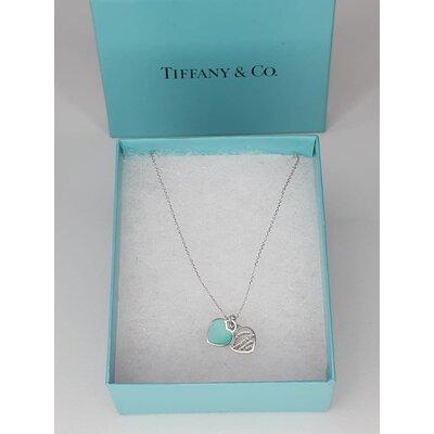 Pendente Tiffany & Co Coração Duplo Mini Prata 925