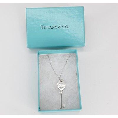 Pendente Tiffany & Co Chave Prata