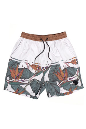 SWIM SHORT BIRD OF PARADISE