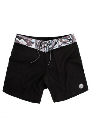 BOARDSHORT INSIGHT ACIDE NOIR