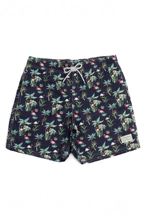 SWIM SHORT SLIM CARIBBEAN