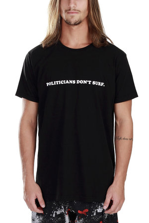 CAMISETA POLITICIANS BLACK