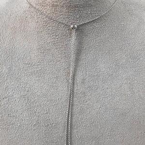 Colar Pingentes Cravejado Prata925