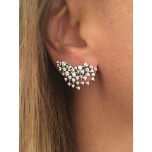 Brinco Ear Cuff Ouro (Prata925)