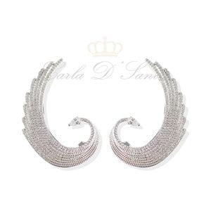 Brinco Ear Cuff ASA Prata925
