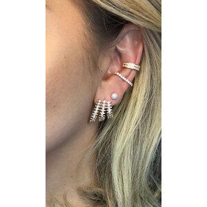 Ear Hook Ouro Prata925