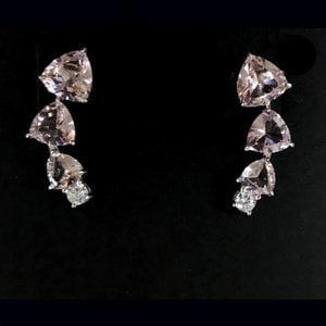Brinco Ear Cuff Morganita Prata925