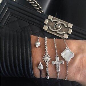 Bracelete Spike Prata925
