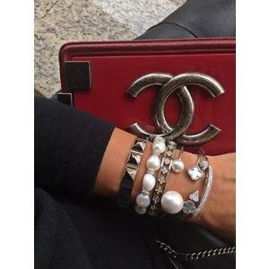 Bracelete Perolas Prata925