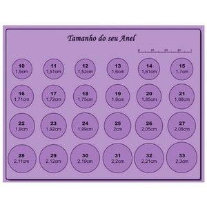 Anel Rubi Prata925