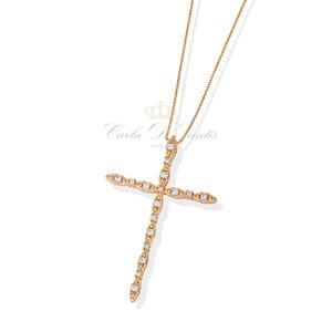 Colar Crucifixo Ouro18K