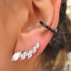 Brinco Ear Cuff Navete