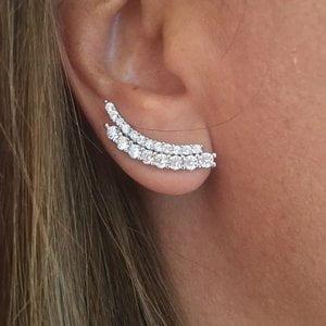Brinco Ear Cuff Alice Prata925