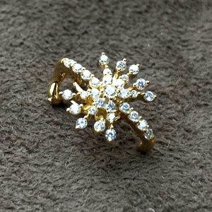Piercing Estrela Ouro Prata925