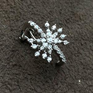 Piercing Estrela Branca Prata925