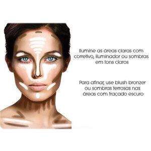 Dica de Maquiagem | Como Fazer o contorno perfeito para o seu formato de rosto!